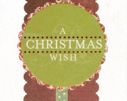 A Christmas Wish Holiday Card/ Christmas Card / Friendship/ Winter Greeting/