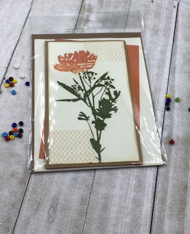 Wild Flower All Occasion Greeting Card