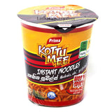 Kottu Mee- Masala flavor instant noodles from Prima. Spicy Level - High