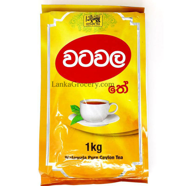 Watawala Pure Ceylon Tea 1kg ( Large Pack)