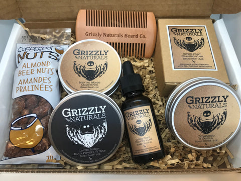 Grizzly Naturals various items