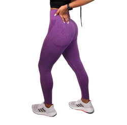 BOOM Seamless Leggings Purple