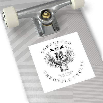 Corrupted Throttle Square Sticker