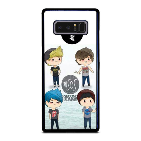 5 SECONDS OF SUMMER 5SOS CARTOON Samsung Galaxy Note 8 Case