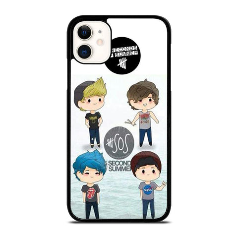 5 SECONDS OF SUMMER 5SOS CARTOON iPhone 11 Case
