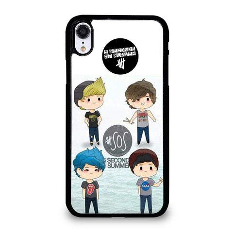 5 SECONDS OF SUMMER 5SOS CARTOON-iphone-xr-case