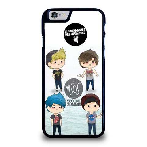 5 SECONDS OF SUMMER 5SOS CARTOON-iphone-6-6s-case