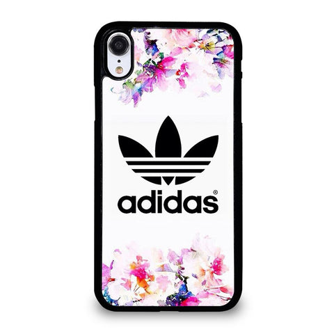 ADIDAS FLOWER ART-iphone-xr-case