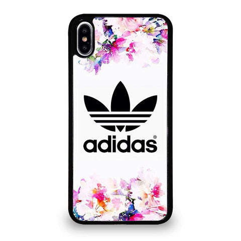 ADIDAS FLOWER ART-iphone-xs-max-case