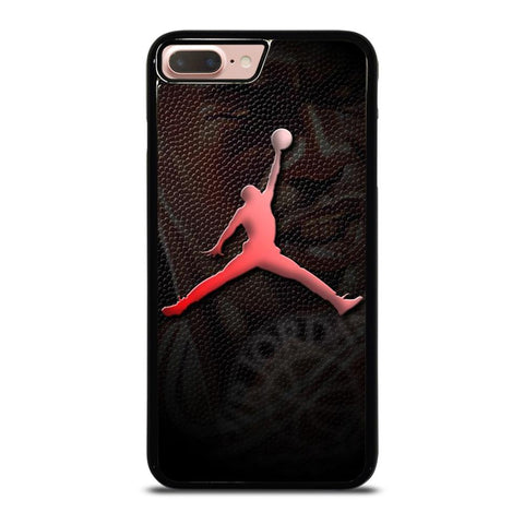 AIR JORDAN LOGO LEATHER iPhone 8 Plus Case