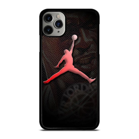 AIR JORDAN LOGO LEATHER iPhone 11 Pro Max Case