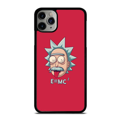 ALBERT EINSTEIN RICK AND MORTY iPhone 11 Pro Max Case