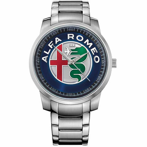 ALFA ROMEO LOGO-metal-watch