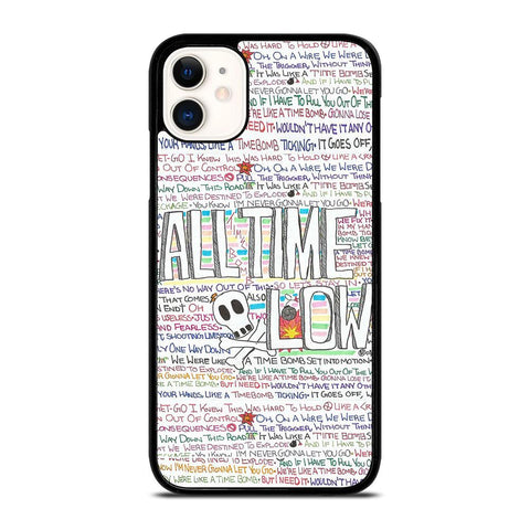 ALL TIME LOW WRITTING iPhone 11 Case