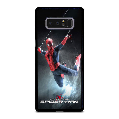 AMAZING SPIDERMAN SHOWING ACTION Samsung Galaxy Note 8 Case