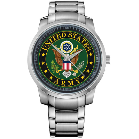 ARMY VECTOR LOGO-metal-watch