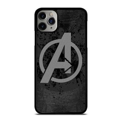 AVENGERS DARK LOGO iPhone 11 Pro Max Case