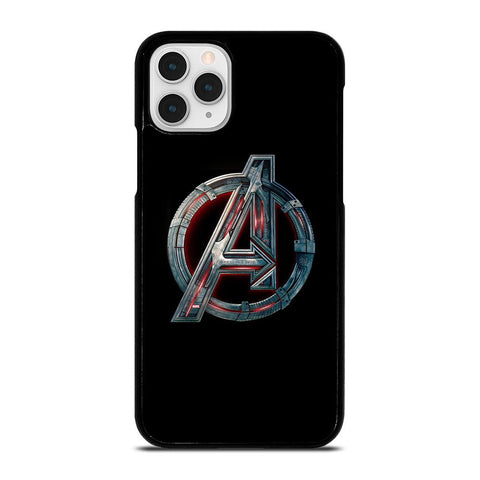 Avengers Marvel Logo-iphone-11-pro-case