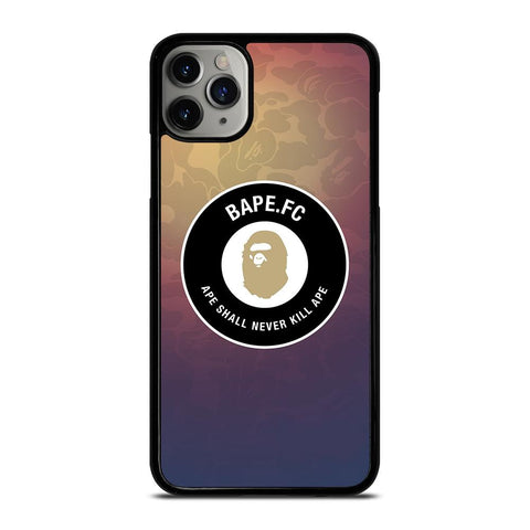 BAPE FC LOGO BADGE iPhone 11 Pro Max Case