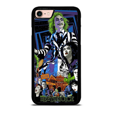 BEETLEJUICE TIM BURTON-iphone-8-case