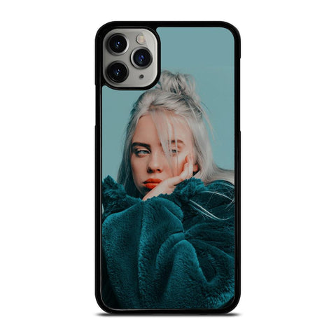 BILLIE EILISH GREEN FUR JACKET iPhone 11 Pro Max Case