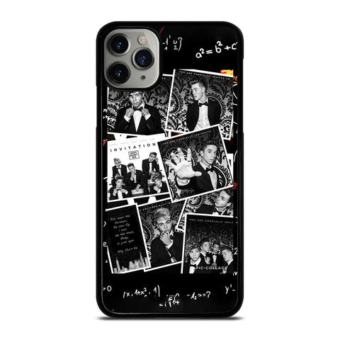 BLACK WHITE WHY DON'T WE-iphone-11-pro-max-case
