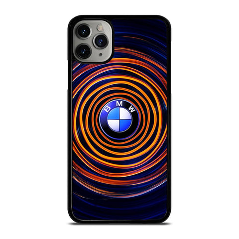 BMW LOGO YELLOW SPIRAL iPhone 11 Pro Max Case