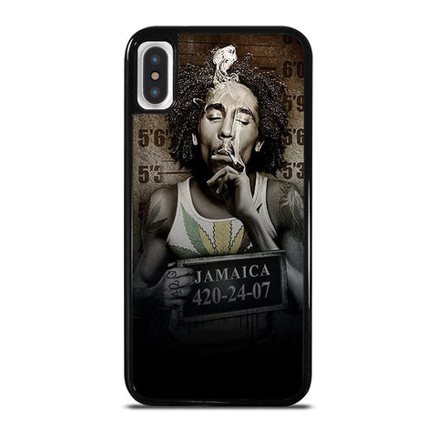 BOB MARLEY JAMAICAN MARIJUANA iPhone X / XS Case