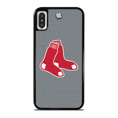 BOSTON RED SOX APPLE LOGO iPhone X / XS Case