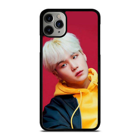 BTS BANGTAN BOYS SUGA RED-iphone-11-pro-max-case