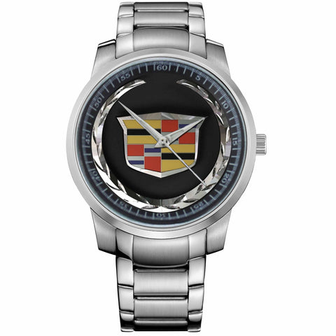 CADILLAC LOGO-metal-watch