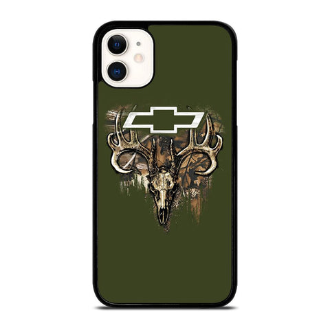 CAMO CHEVY FILL SKULLc iPhone 11 Case