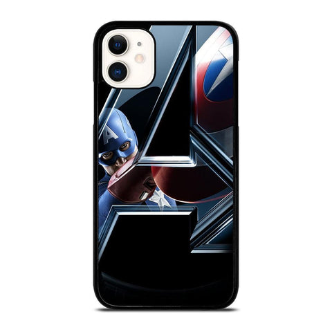 CAPTAIN AMERICA IN THE AVENGERS iPhone 11 Case