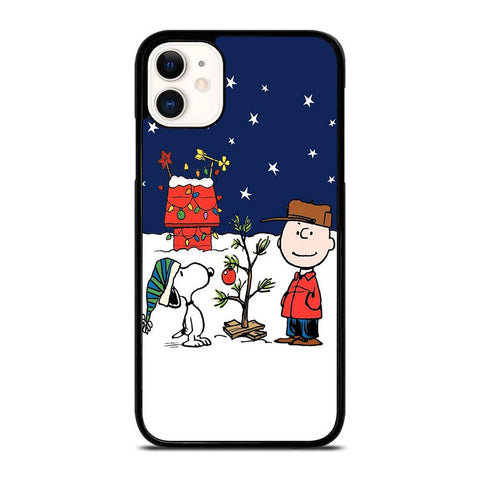 CHARLIE BROWN PEANUTS COMICS SNOOPY iPhone 11 Case