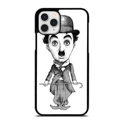 CHARLIE CHAPLIN CARTOON-iphone-11-pro-case