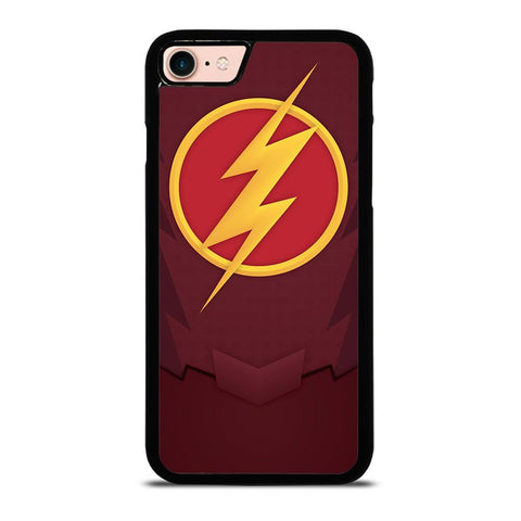 CHEST LOGO THE FLASH-iphone-8-case
