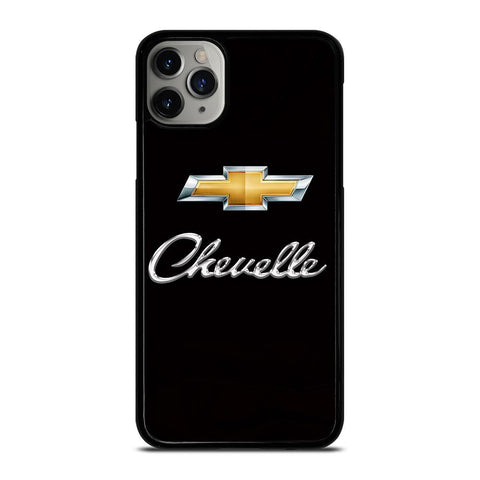 CHEVROLET CHEVELLE LOGO-iphone-11-pro-max-case