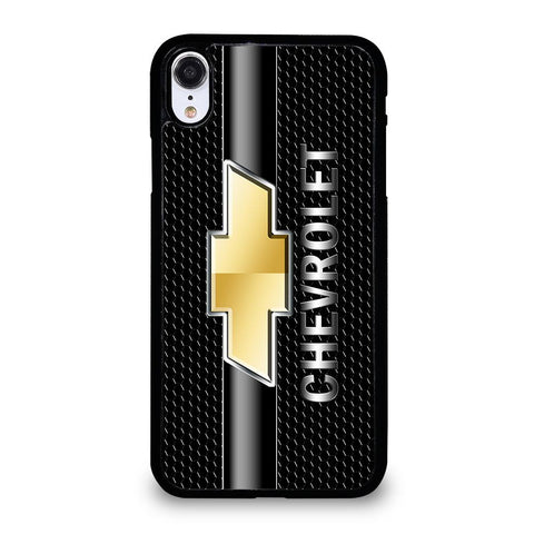 CHEVY CHEVROLET LOGO CARBON-iphone-xr-case