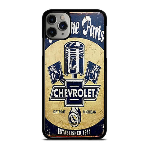 CHEVY RETRO CAR POSTER-iphone-11-pro-max-case