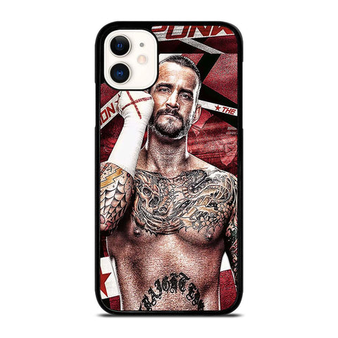 CM PUNK GLOVES iPhone 11 Case
