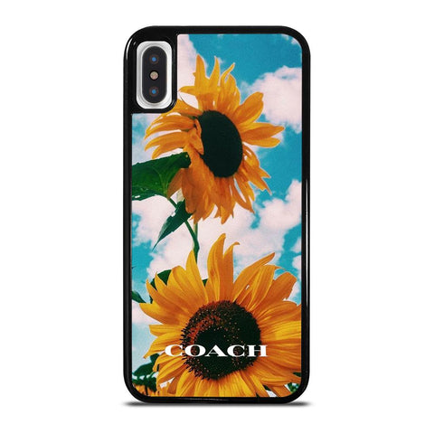 COACH SUNFLOWER iPhone X / XS Case