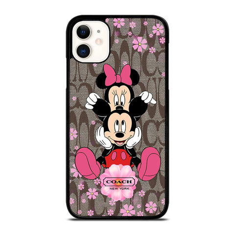 COACH MICKEY MINNIE iPhone 11 Case