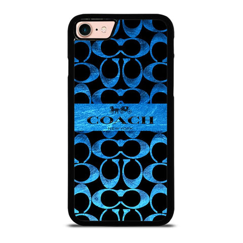 COACH NEW YORK BLUE 2-iphone-8-case