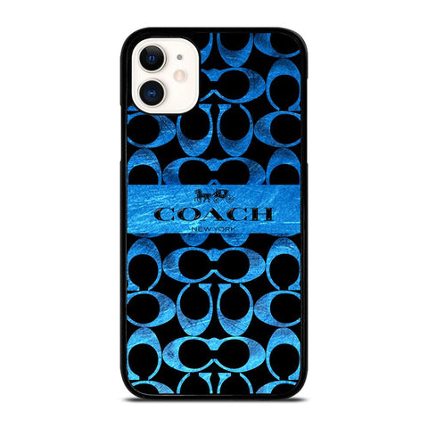 COACH NEW YORK BLUE 2 iPhone 11 Case