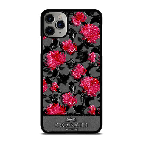 COACH NEW YORK FLOWER 3-iphone-11-pro-max-case