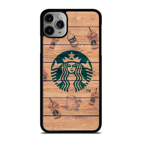 COFFEESHOP STARBUCK WOODEN LOGO iPhone 11 Pro Max Case