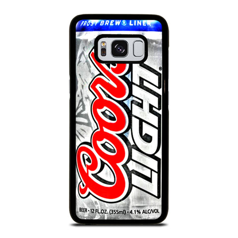 COORS LIGHT BEER 5 Samsung Galaxy S8 Case
