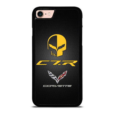 CORVETTE RACING JAKE SKULL-iphone-8-case