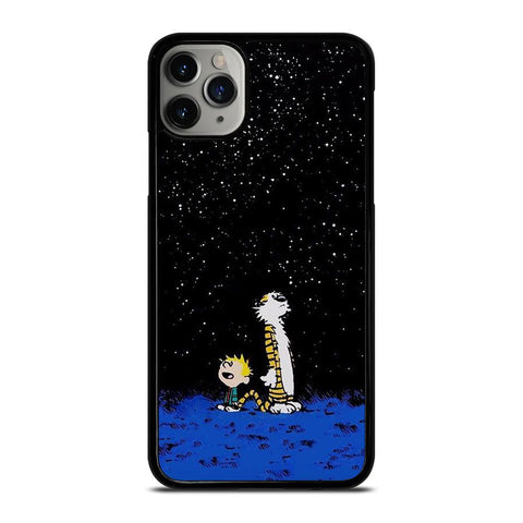 Calvin And Hobbes Looking Star-iphone-11-pro-max-case