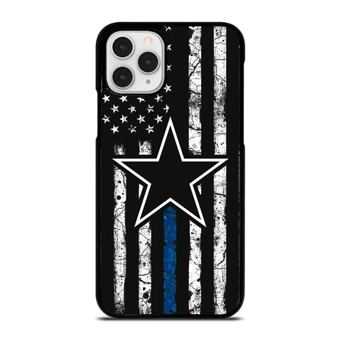 DALLAS COWBOYS THIN BLUE-iphone-11-pro-case